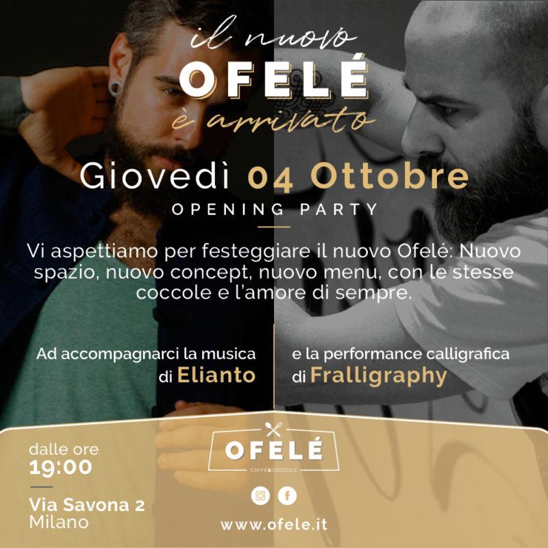 Il nuovo Ofelé è arrivato | Ofelé. Caffè & Coccole.