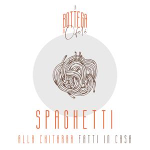 Spaghetti alla Chitarra di pasta fresca fatta in casa | La bottega di Ofelé | www.ofele.it