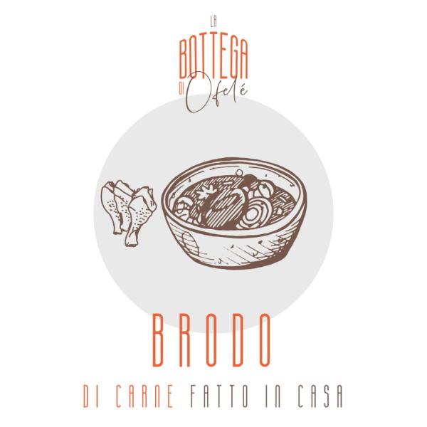 Brodo di Carne fatto in casa | La bottega di Ofelé | www.ofele.it