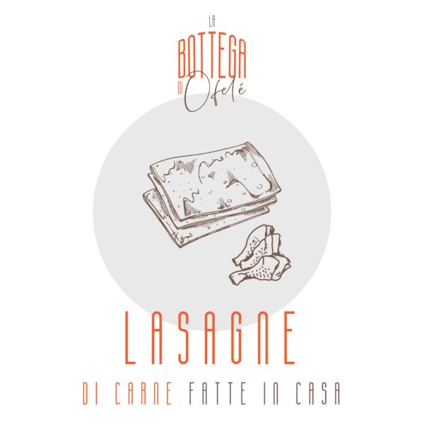 Lasagne di Carne fatte in casa | La bottega di Ofelé | www.ofele.it